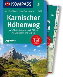 Karnischer Höhenweg, Von Thörl-Maglern nach Sillian, Mit Varianten und Gipfeln von Zahel,  Mark