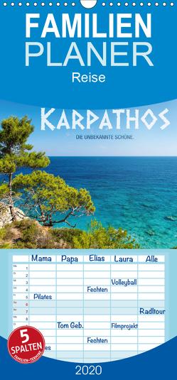 Karpathos – die unbekannte Schöne – Familienplaner hoch (Wandkalender 2020 , 21 cm x 45 cm, hoch) von Mitchell,  Frank