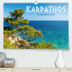 Karpathos – die unbekannte Schöne (Premium, hochwertiger DIN A2 Wandkalender 2021, Kunstdruck in Hochglanz) von Mitchell,  Frank