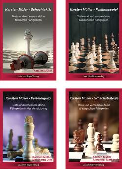 Karsten Müller – 4er Bundle von Markgraf,  Alexander, Müller,  Karsten, van Delft,  Merijn
