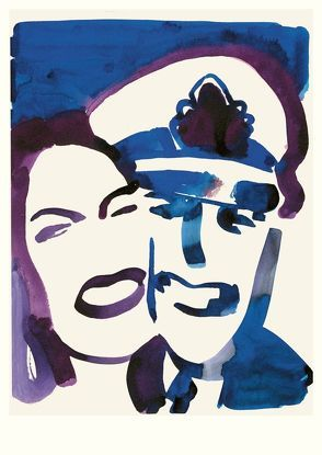 Double Portrait (Postkarte, 20 Ex) von Niemann,  Christoph
