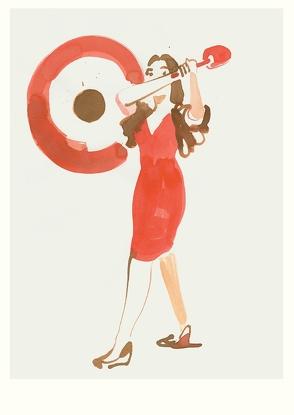 Gong (Postkarte, 20 Ex) von Niemann,  Christoph