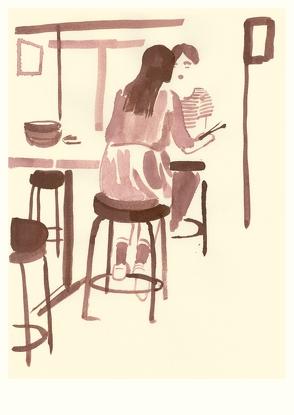 Lunch (Postkarte, 20 Ex) von Niemann,  Christoph