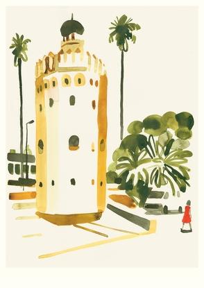 Torre del Oro, Seville (Postkarte, 20 Ex) von Niemann,  Christoph