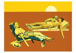 Waiting for Godot (Postkarte, 20 Ex) von Ungerer,  Tomi