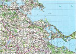 Karte von Pommern von BKG - Bundesamt für Kartographie und Geodäsie