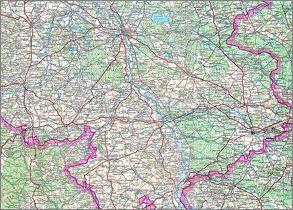 Karte von Schlesien von BKG - Bundesamt für Kartographie und Geodäsie