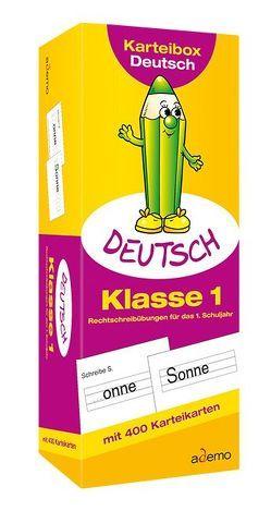 Karteibox Deutsch, Klasse 1