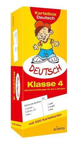 Karteibox Deutsch, Klasse 4