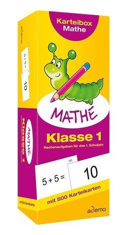 Karteibox Mathe, Klasse 1