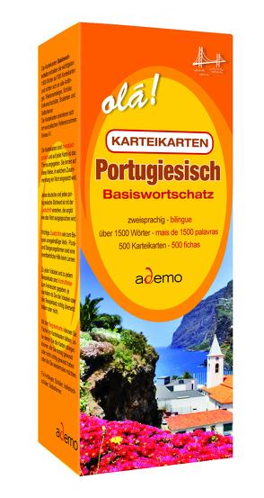 Karteikarten Basiswortschatz Portugiesisch