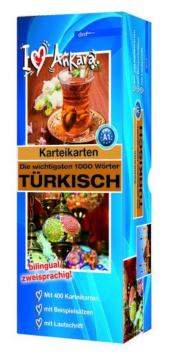 Karteikarten – Die wichtigsten 1000 Wörter, Türkisch