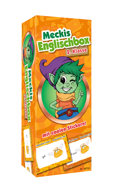 Karteikarten Meckis Englischbox 2. Klasse