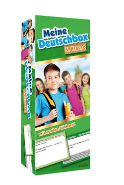 Karteikarten Meine Deutschbox 5. Klasse