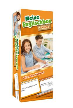 Karteikarten Meine Englischbox 5. Klasse