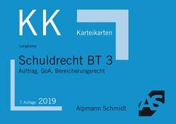 Karteikarten Schuldrecht BT 3 von Langkamp (geb. Wirtz),  Tobias
