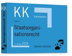 Karteikarten Staatsorganisationsrecht von Altevers,  Ralf
