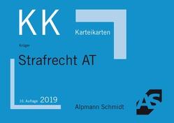 Karteikarten Strafrecht Allgemeiner Teil von Krüger,  Rolf