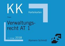 Karteikarten Verwaltungsrecht AT 1 von Pieper,  Hans-Gerd