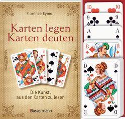 Karten legen – Karten deuten (Set) von Eymon,  Florence, Hein,  Jutta