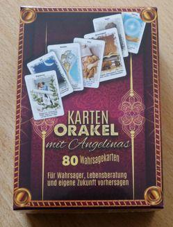 Karten Orakel mit Angelinas 80 Wahrsagekarten von Schulze,  Angelina