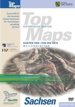 Karten von 1780 bis 1810, Meilenblätter