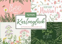 Kartenglück – 30 Postkarten im Botanik-Look