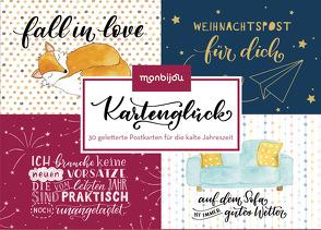 Kartenglück – Für die kalte Jahreszeit von Landschützer,  Cornelia