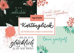 Kartenglück – Letterliebe von Haas,  Katja, Landschützer,  Cornelia, Magin,  Katrin, Pöltl,  Tanja, Trendl,  Mike