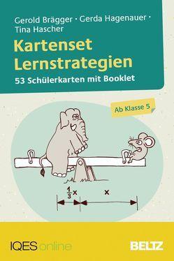 Kartenset Lernstrategien von Brägger,  Gerold, Hagenauer,  Gerda, Hascher,  Tina, Meier,  Silvan
