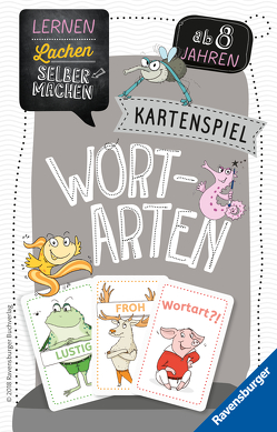 Kartenspiel Wortarten von Koppers,  Theresia, Spitznagel,  Elke