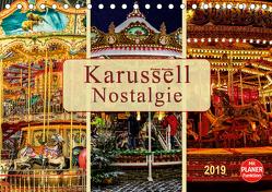 Karussell – Nostalgie (Tischkalender 2019 DIN A5 quer) von Roder,  Peter
