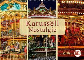 Karussell – Nostalgie (Wandkalender 2018 DIN A2 quer) von Roder,  Peter