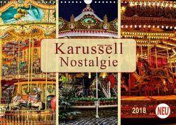 Karussell – Nostalgie (Wandkalender 2018 DIN A3 quer) von Roder,  Peter