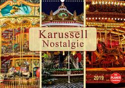 Karussell – Nostalgie (Wandkalender 2019 DIN A2 quer) von Roder,  Peter