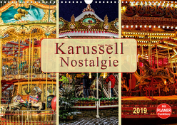 Karussell – Nostalgie (Wandkalender 2019 DIN A3 quer) von Roder,  Peter