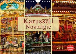 Karussell – Nostalgie (Wandkalender 2019 DIN A4 quer) von Roder,  Peter