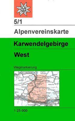 Karwendelgebirge – Westliches Blatt von Deutscher Alpenverein e.V.