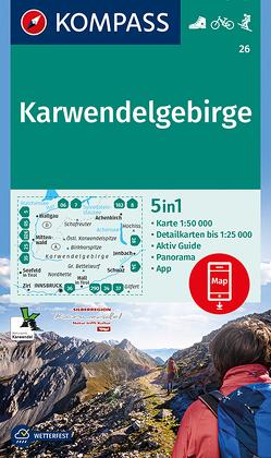 Karwendelgebirge von KOMPASS-Karten GmbH
