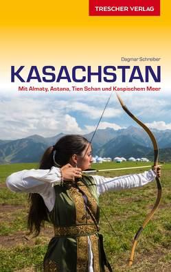 Reiseführer Kasachstan von Schreiber,  Dagmar