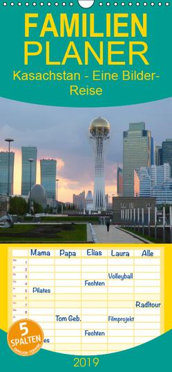 Kasachstan – Eine Bilder-Reise – Familienplaner hoch (Wandkalender 2019 , 21 cm x 45 cm, hoch) von Heinrich,  Sebastian