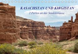 Kasachstan und Kirgistan (Tischkalender 2021 DIN A5 quer) von Junio,  Michele
