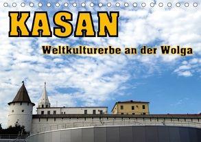 Kasan- Weltkulturerbe an der Wolga (Tischkalender 2018 DIN A5 quer) von von Loewis of Menar,  Henning