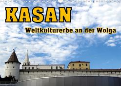 Kasan- Weltkulturerbe an der Wolga (Wandkalender 2020 DIN A3 quer) von von Loewis of Menar,  Henning