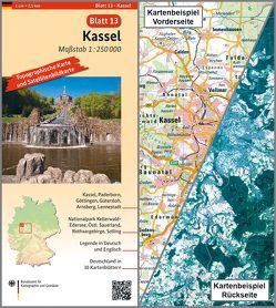Kassel von BKG - Bundesamt für Kartographie und Geodäsie