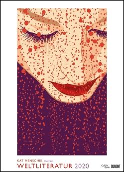 Kat Menschik illustriert Weltliteratur – Literarischer Posterkalender in Bildern 2020 – Wand-Kalender von DUMONT – Format 49,5 x 68,5 cm von DUMONT Kalenderverlag, Menschik,  Kat