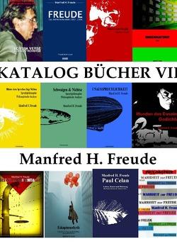 KATALOG BÜCHER FREUDE WERKE / Aktueller KATALOG PRINT von Freude,  Manfred H.