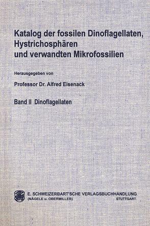 Katalog der fossilen Dinoflagellaten, Hystrichosphären und verwandten Mikrofossilien / Dinoflagellaten von Eisenack,  Alfred, Kjellström,  Göran