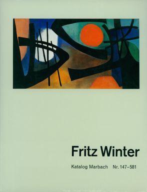 Katalog Marbach. Fritz Winter von Gabler,  Karlheinz