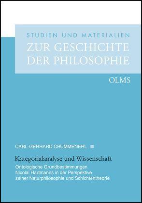 Kategorialanalyse und Wissenschaft von Crummenerl,  Carl-Gerhard